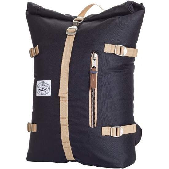 Poler Rolltop Backpack - Black