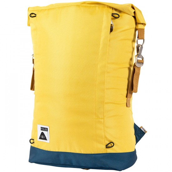 Poler Rolltop Backpack - Golden Rod