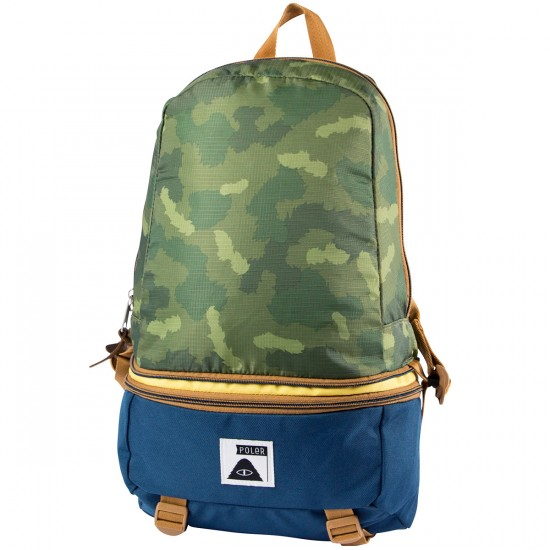 Poler Tourist Pack Backpack - Green Camo