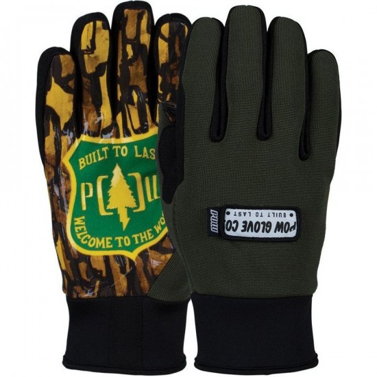POW All Day Snowboard Gloves - Welcome