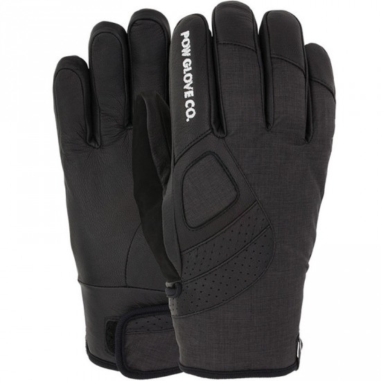 POW Vandal Snowboard Gloves - Black