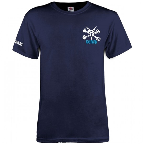 Powell-Peralta Rat Bones T-Shirt - Navy