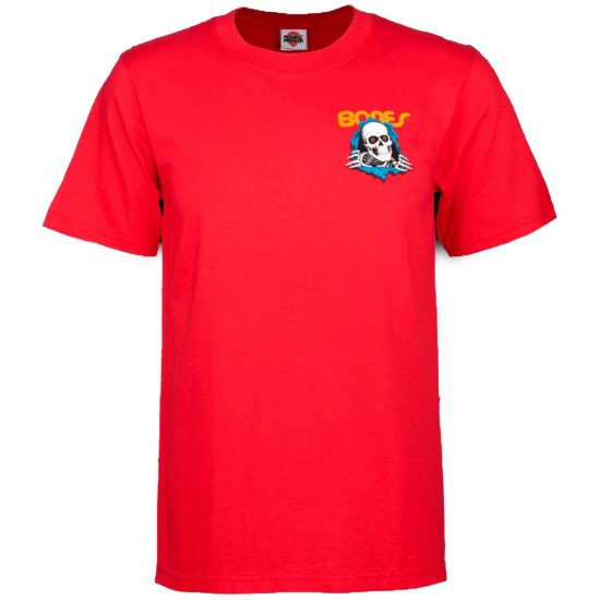 Powell-Peralta Ripper T-Shirt - Red