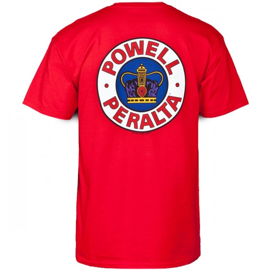 Powell-Peralta Supreme T-Shirt - Red