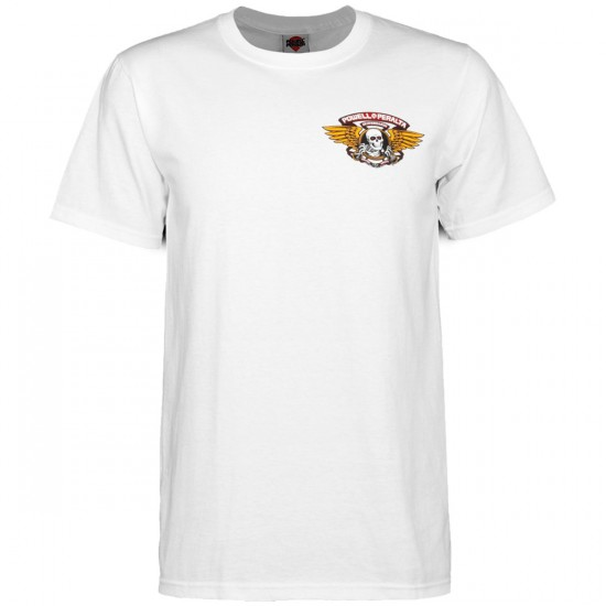 Powell-Peralta Winged Ripper T-Shirt - White