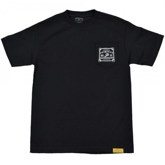 Primitive Apparel Authentic Pocket T-Shirt - Black