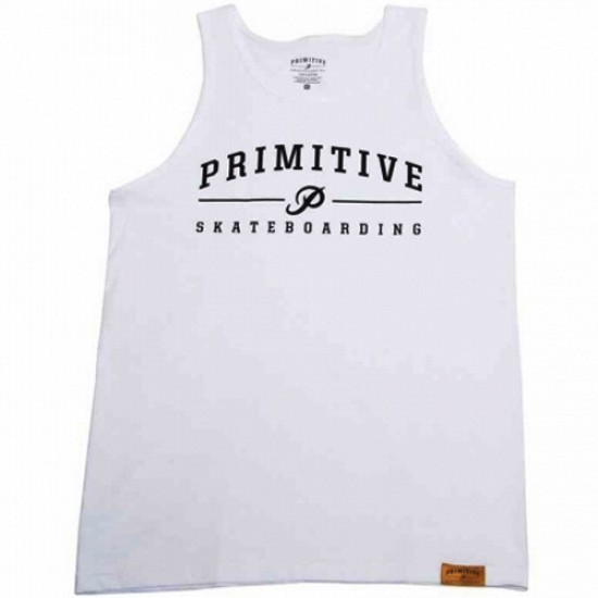 Primitive Apparel Core Logo Tank - White