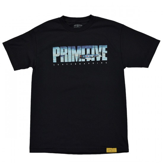 Primitive Apparel Dogfight T-Shirt - Black