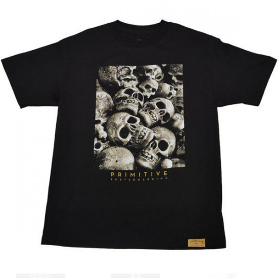 Primitive Apparel Goldie T-Shirt - Black