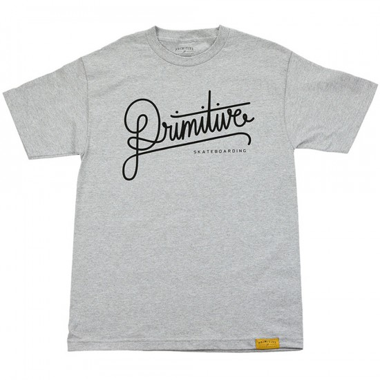 Primitive Apparel Longhand T-Shirt - Athletic Heather