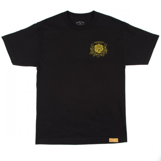 Primitive Apparel Victory T-Shirt - Black/Gold