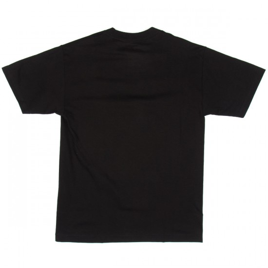 Primitive Classic P Splatter T-Shirt - Black