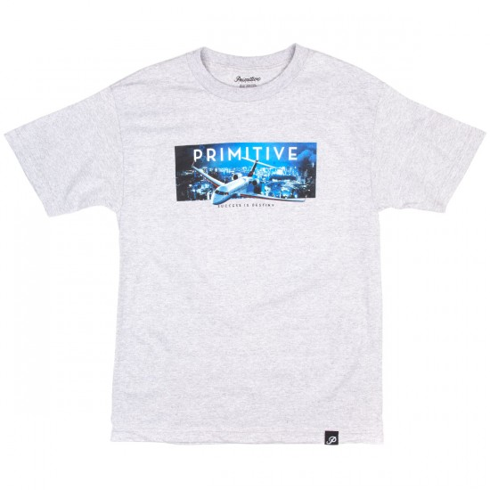 Primitive First Class T-Shirt - Athletic Heather
