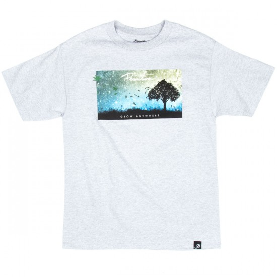 Primitive Giving Tree T-Shirt - Athletic Heather