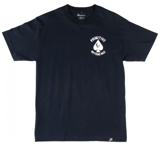 Primitive Royal Skull T-Shirt - Navy