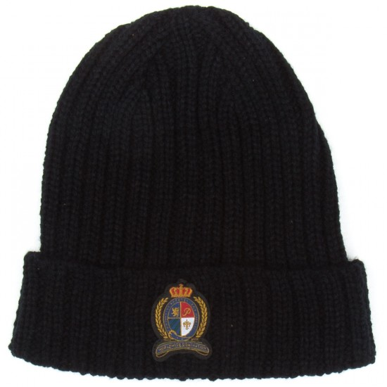 Primitive Rugby Heavy Ribbed Beanie - Black