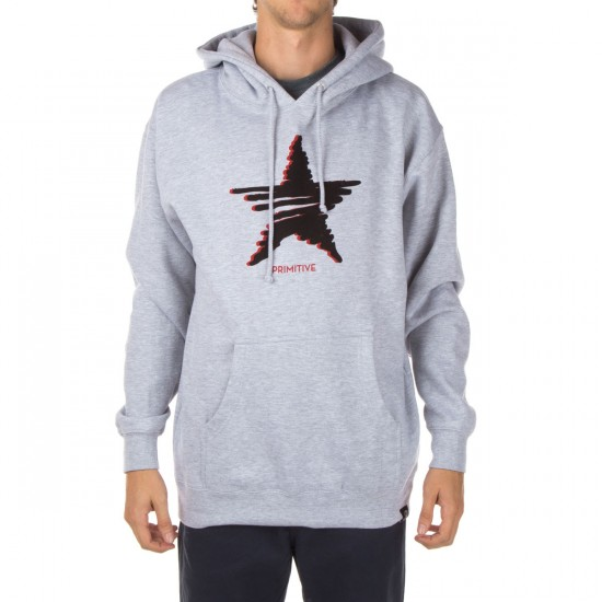 Primitive Signal Pullover Hoodie - Athletic Heather