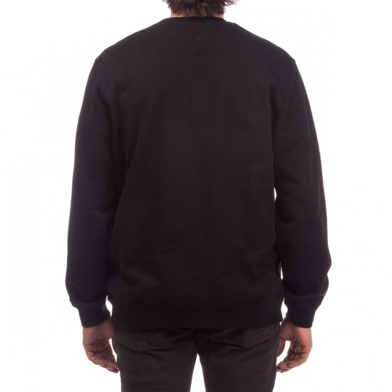Primitive Slab University Crewneck Sweatshirt - Black