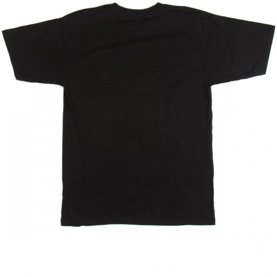 Real In Skateboarding We Trust T-Shirt - Black