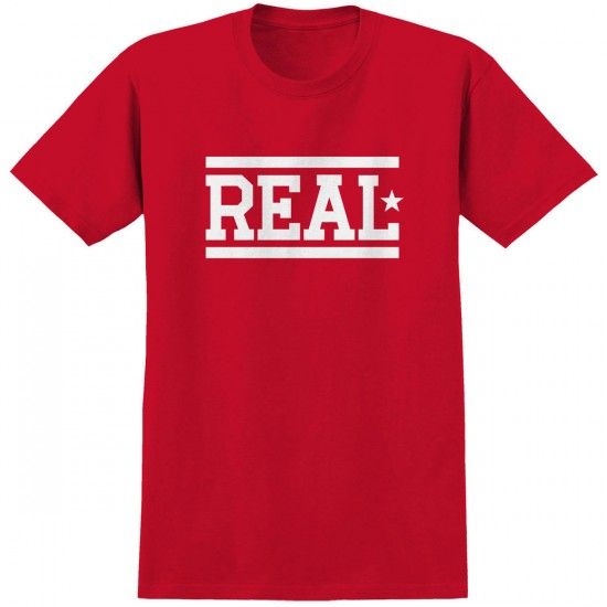 Real Bars T-Shirt - Red