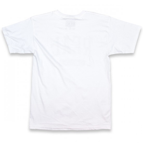 Real Underclass T-Shirt - White/Black