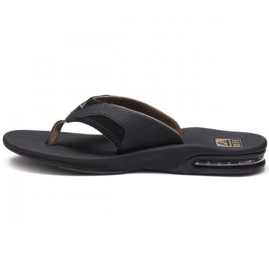 Reef Fanning Sandals - Black/Brown - 10.0