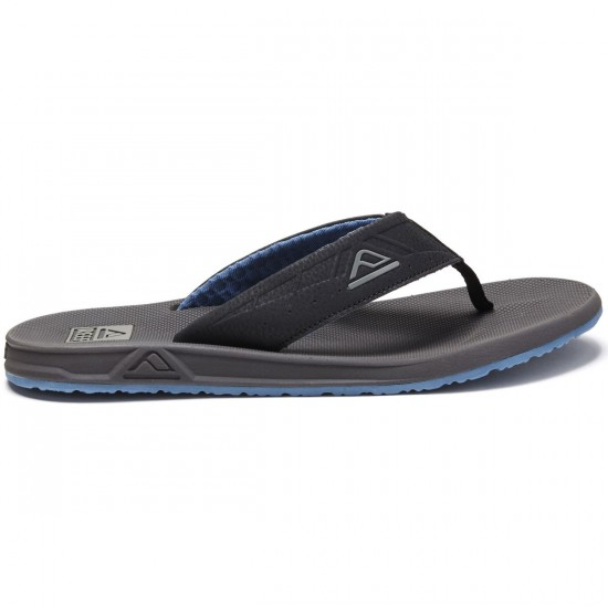 Reef Phantom II Sandals - Grey/Blue - 10.0