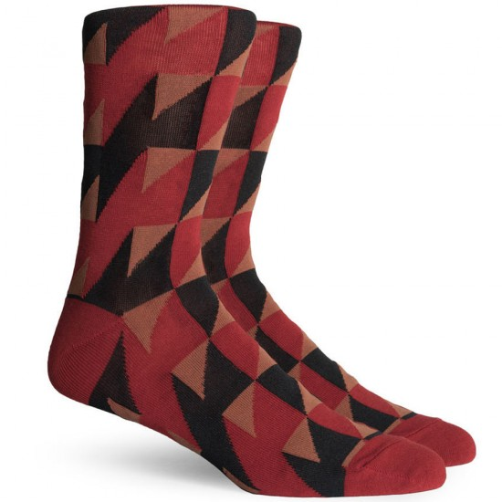 Richer Poorer Thompson Socks - Red