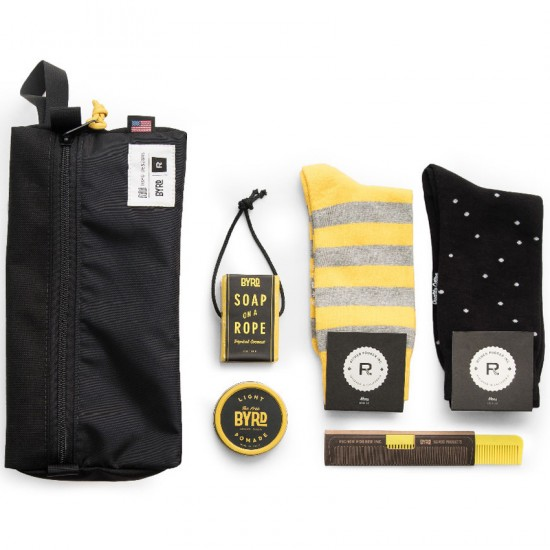 Richer Poorer x Byrd The Carry On Pack - Black/Yellow