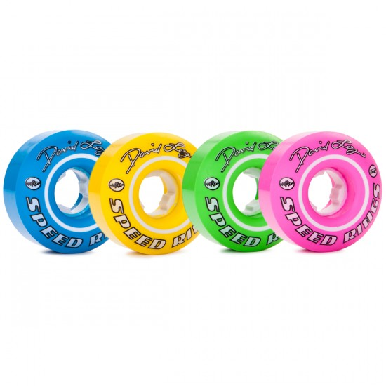 Ricta David Loy Pro Speedrings Mix Up Skateboard Wheels - 52mm - 81b
