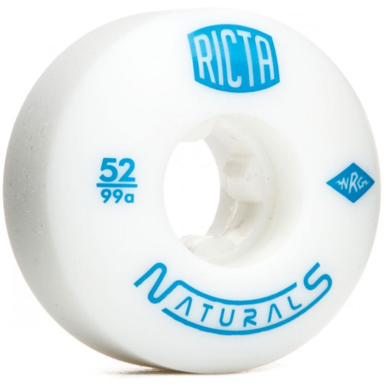 Ricta Naturals 100a Skateboard Wheels - 52mm
