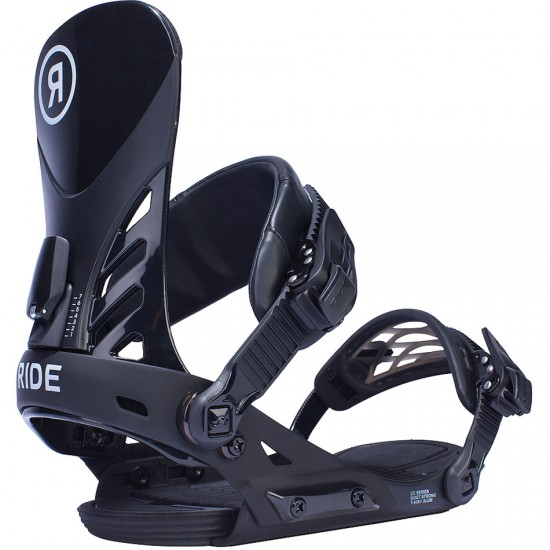 Ride EX Snowboard Bindings 2017 - Black