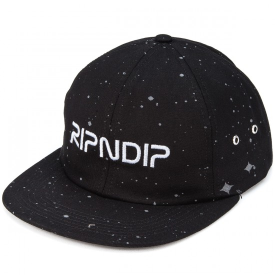 Rip N Dip Deep Space 6-Panel Hat - Black