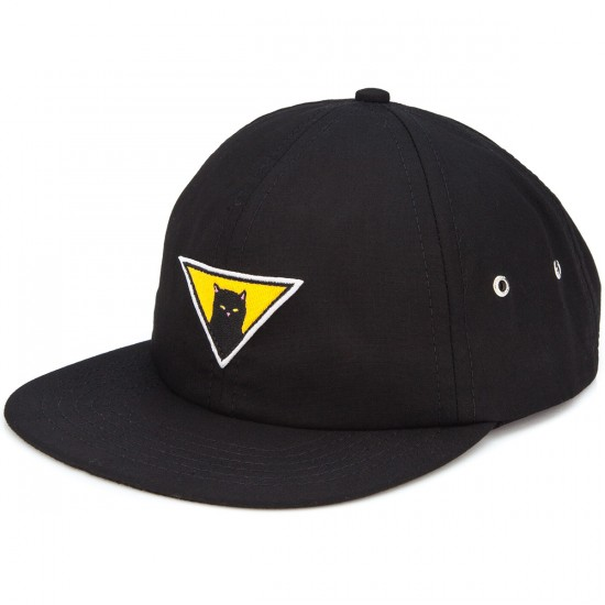 Rip N Dip Neighborhood Watch Six Panel Hat - Black