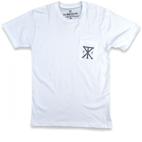 Roark Bones Pocket T-Shirt - White