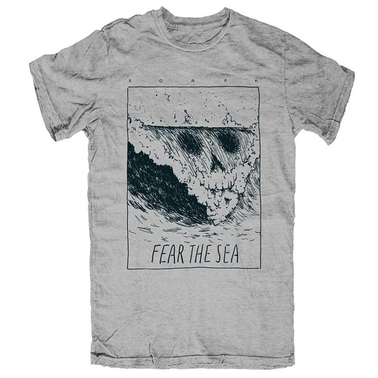 Roark Death Peak T-Shirt - Heather Grey