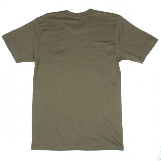 Roark Fear The Sea Pocket T-Shirt - Moss