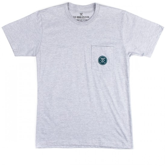 Roark Safe Camp Pocket T-Shirt - Heather Grey