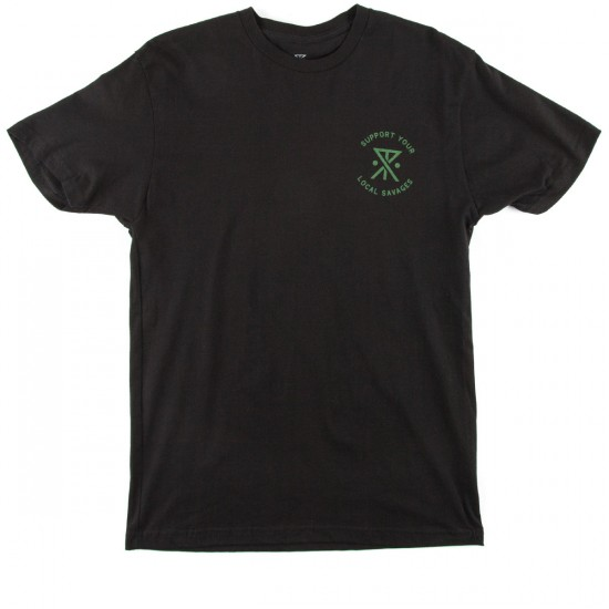 Roark Savage For Life T-Shirt - Black
