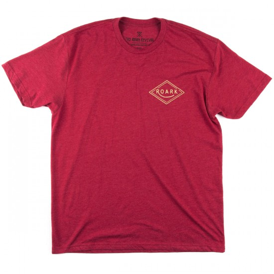 Roark Station T-Shirt - Heather Red
