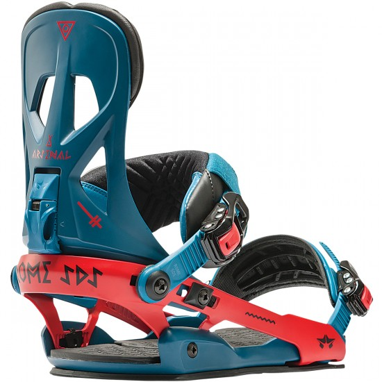 Rome Arsenal Snowboard Bindings 2015 - Blue