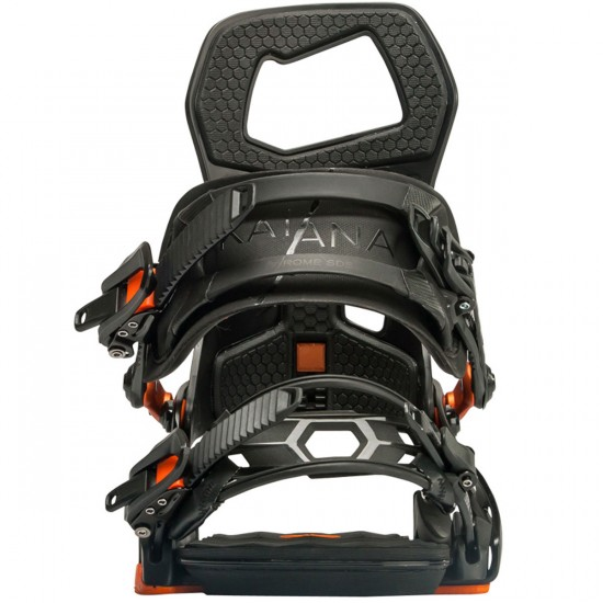 Rome Katana Snowboard Bindings - Black
