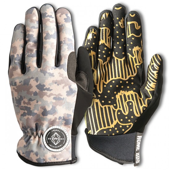 Rome Love Camo Snowboard Gloves