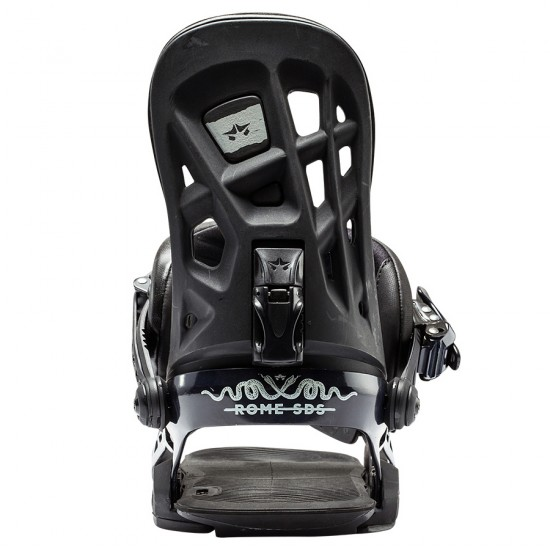 Rome 390 Boss Snowboard Bindings 2017 - Black