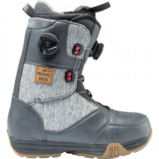 Rome SDS Memphis Womens Snowboard Boots 2017 - Grey