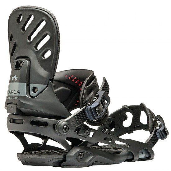 Rome Targa Snowboard Bindings - Black - 2017