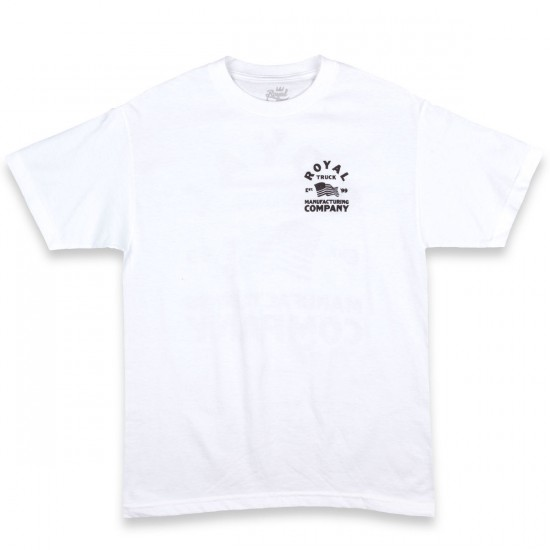 Royal Merica T-Shirt - White