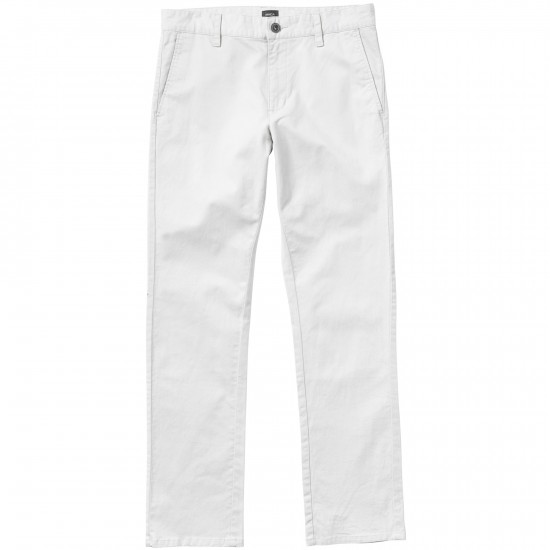 RVCA All Time Chino Pants - Silver Bleach
