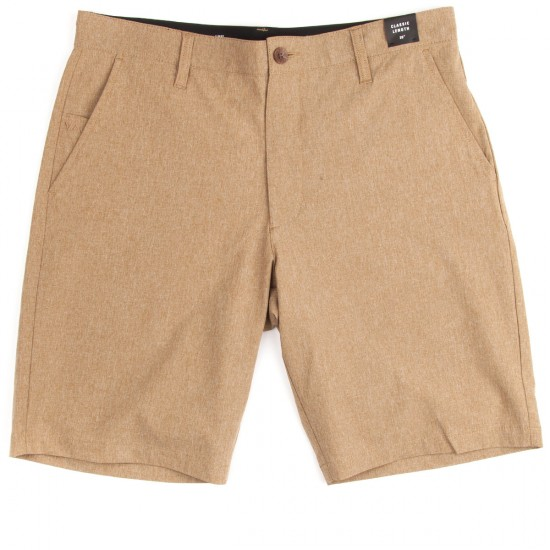 RVCA Benefits Hybrid Shorts - Bark