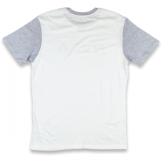 RVCA Big RVCA T-Shirt - Vintage White/Athletic Heather